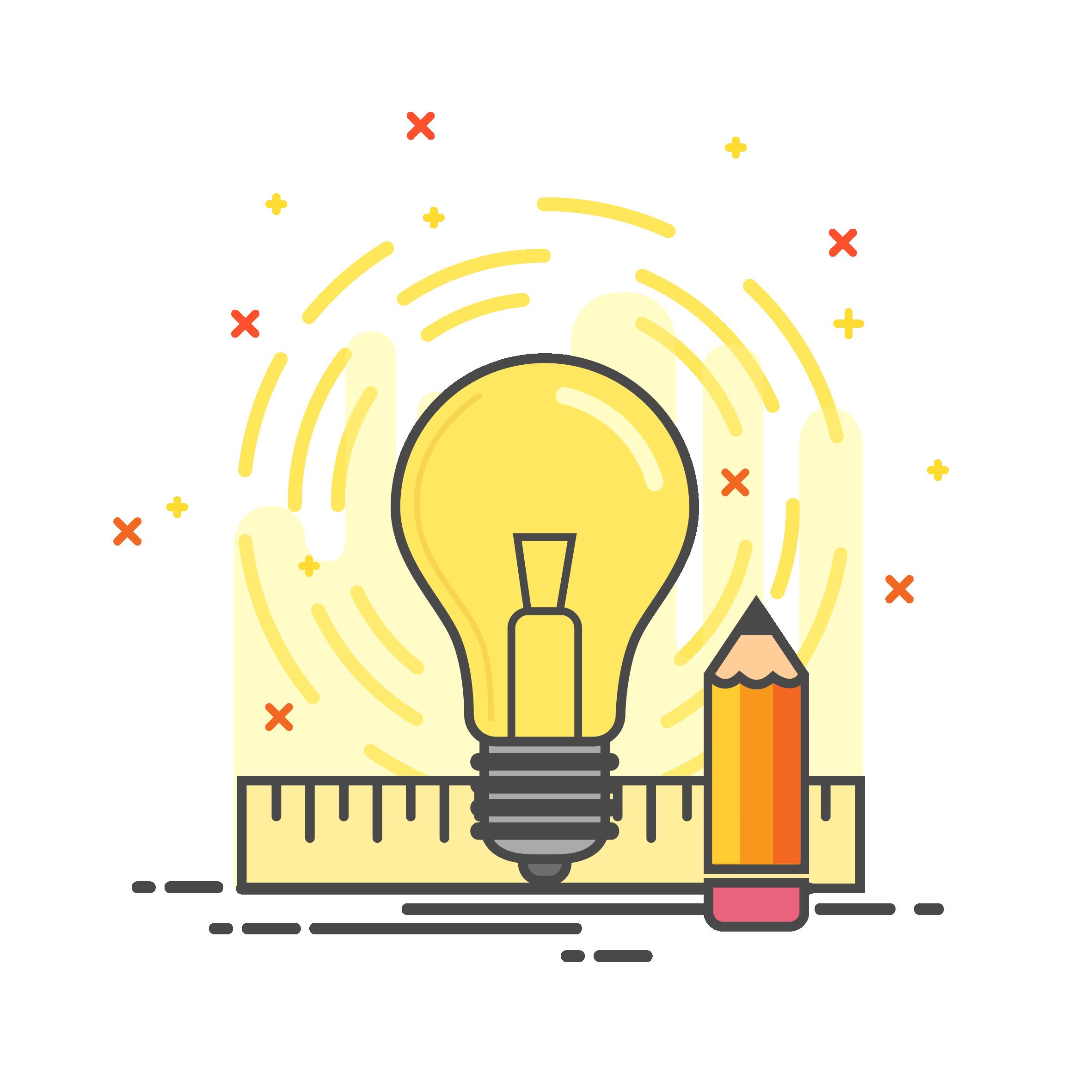 Branding advertising agency in. Lightbulb clipart realization