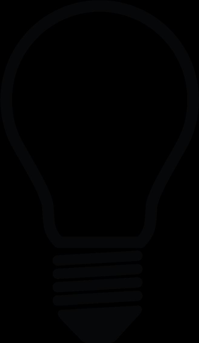 Hd light bulb logo. Lightbulb clipart research paper