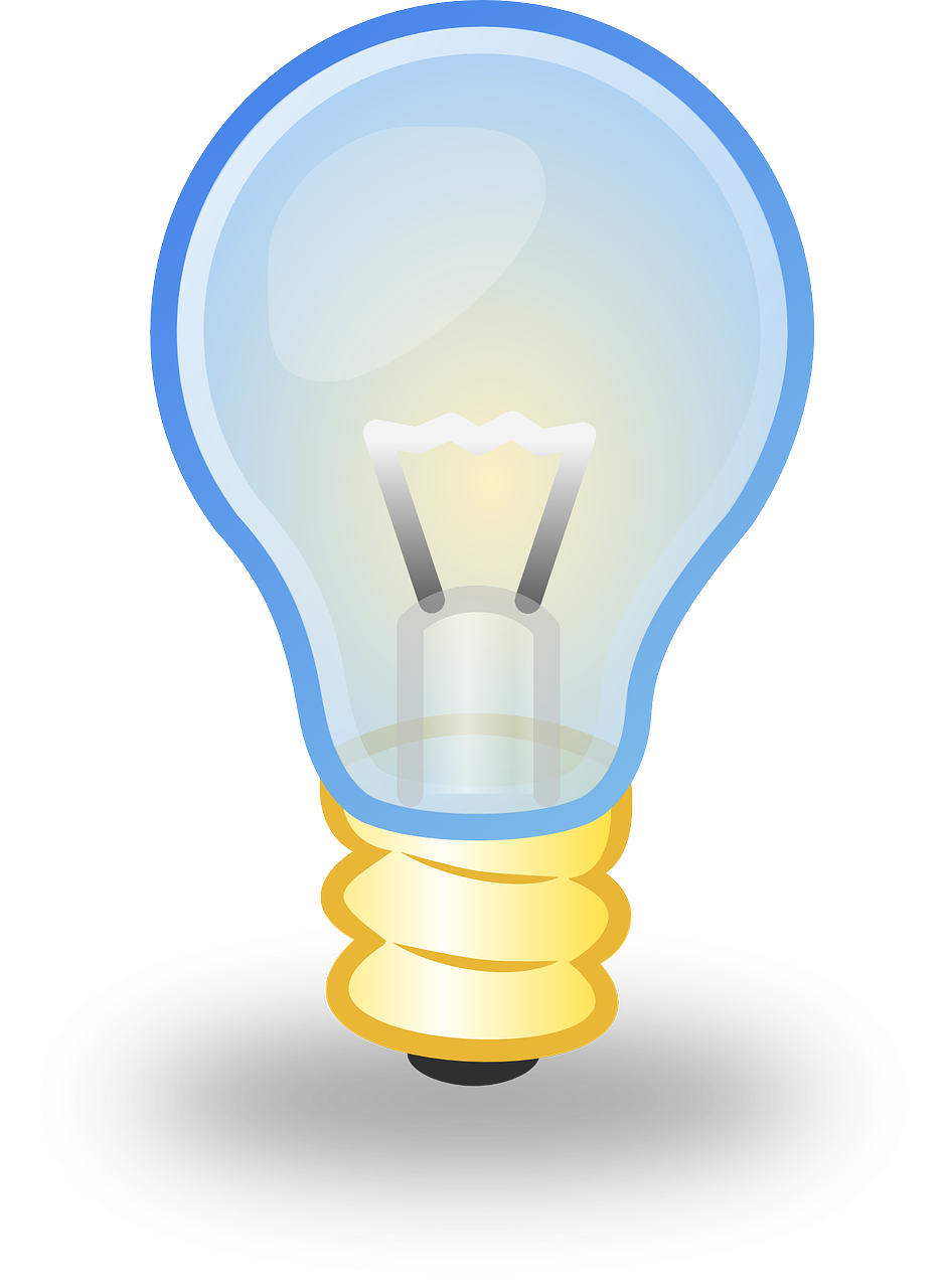 Lightbulb clipart story solution. Replacement look for the