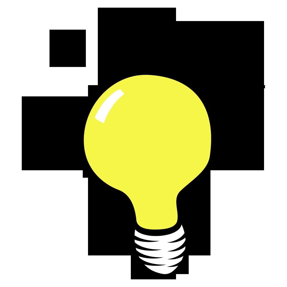 Lightbulb thinking panda free. Thoughts clipart lighbulb