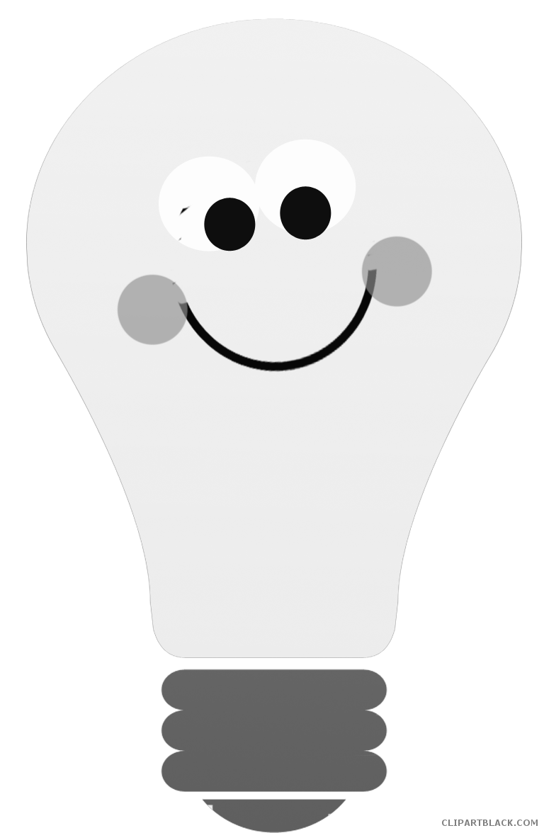 Thoughts clipart buld. Thinking light bulb clipartblack