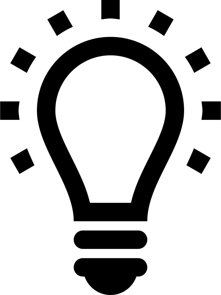 Lightbulb icon png.  light bulb for