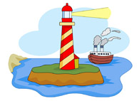 Lighthouse clipart. Free lighthouses clip art