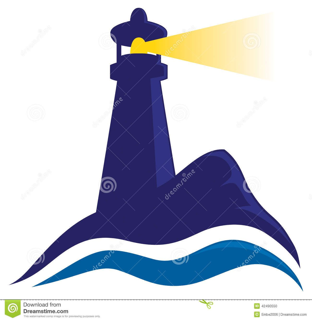 Lighthouse clipart. Logo showing lighthouseclipartlighthouselogoshowingshiningitslight