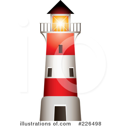 Illustration by ta images. Lighthouse clipart