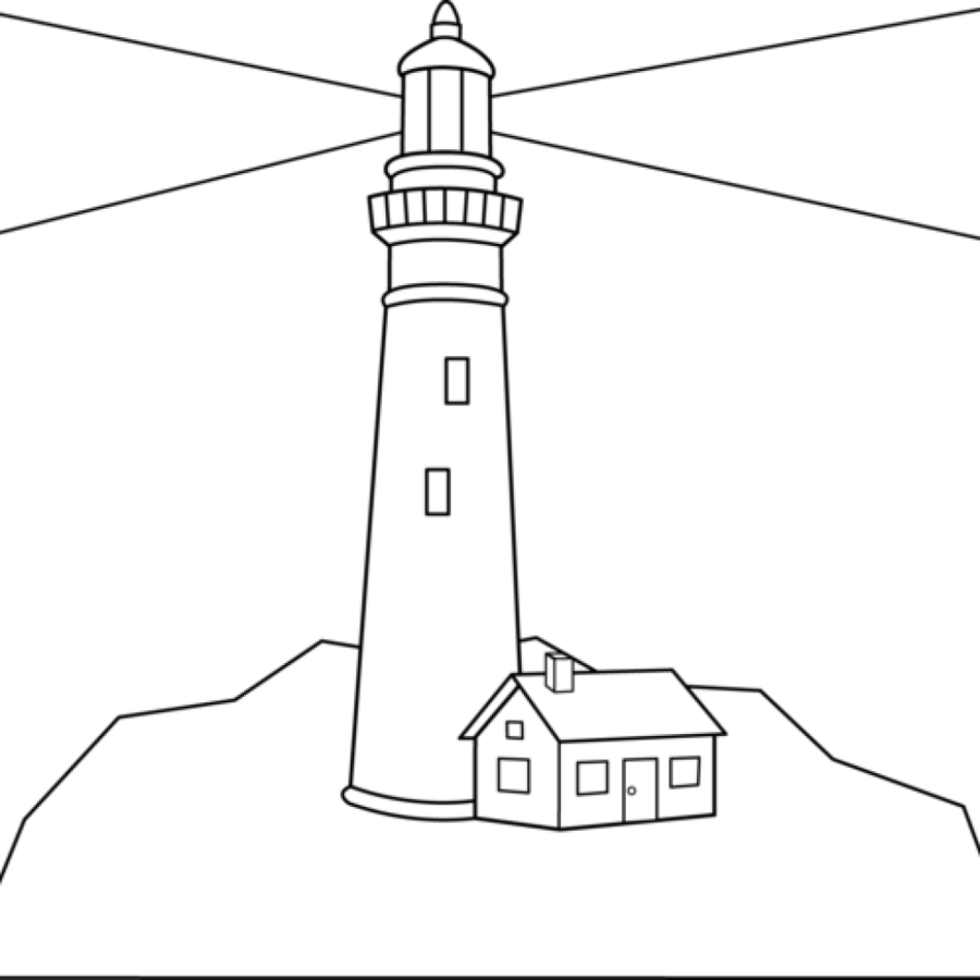 Lighthouse Clipart Easy Draw Lighthouse Easy Draw Transparent Free For Download On Webstockreview 2020