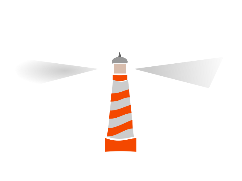 Square clipart lighthouse. Silhouette at getdrawings com