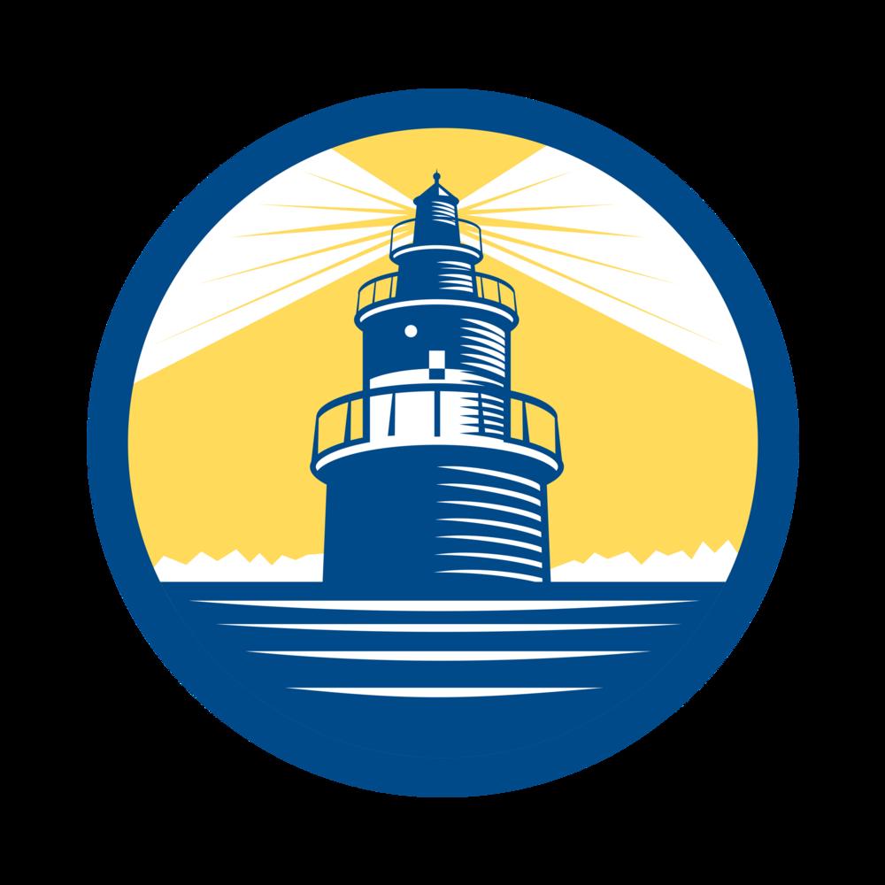 Square clipart lighthouse. Safe sound