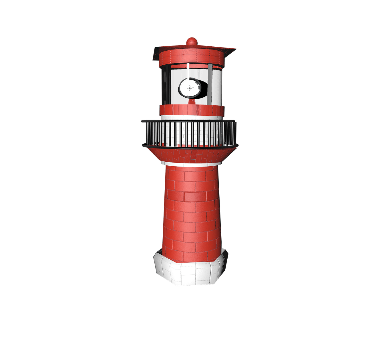 Square clipart lighthouse. Red transparent png stickpng