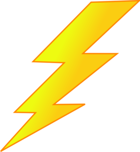 Lightning clipart. Bolt clip art at