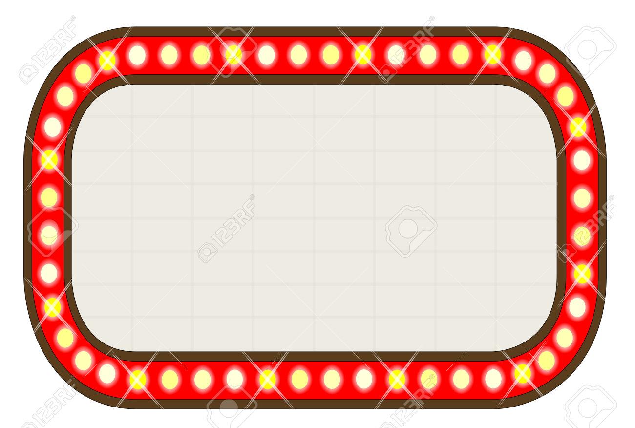 Mirror clipart theatre. Movie lights free download