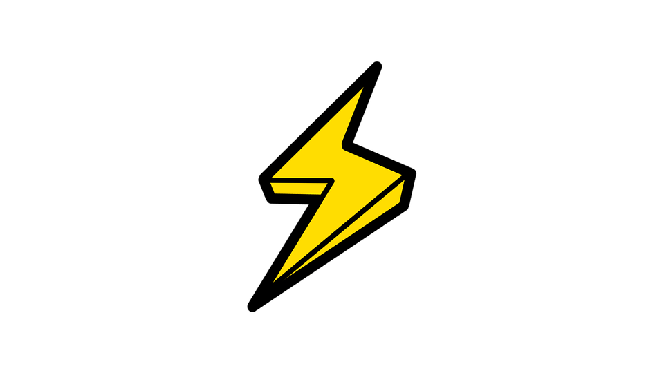 Youtube clipart lightning. Picture of a bolt