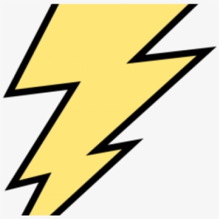 Lightening yellow and blue. Lighting clipart lightning strike