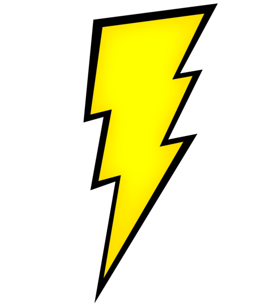 Lighting clipart real lightning. Bolt product image free