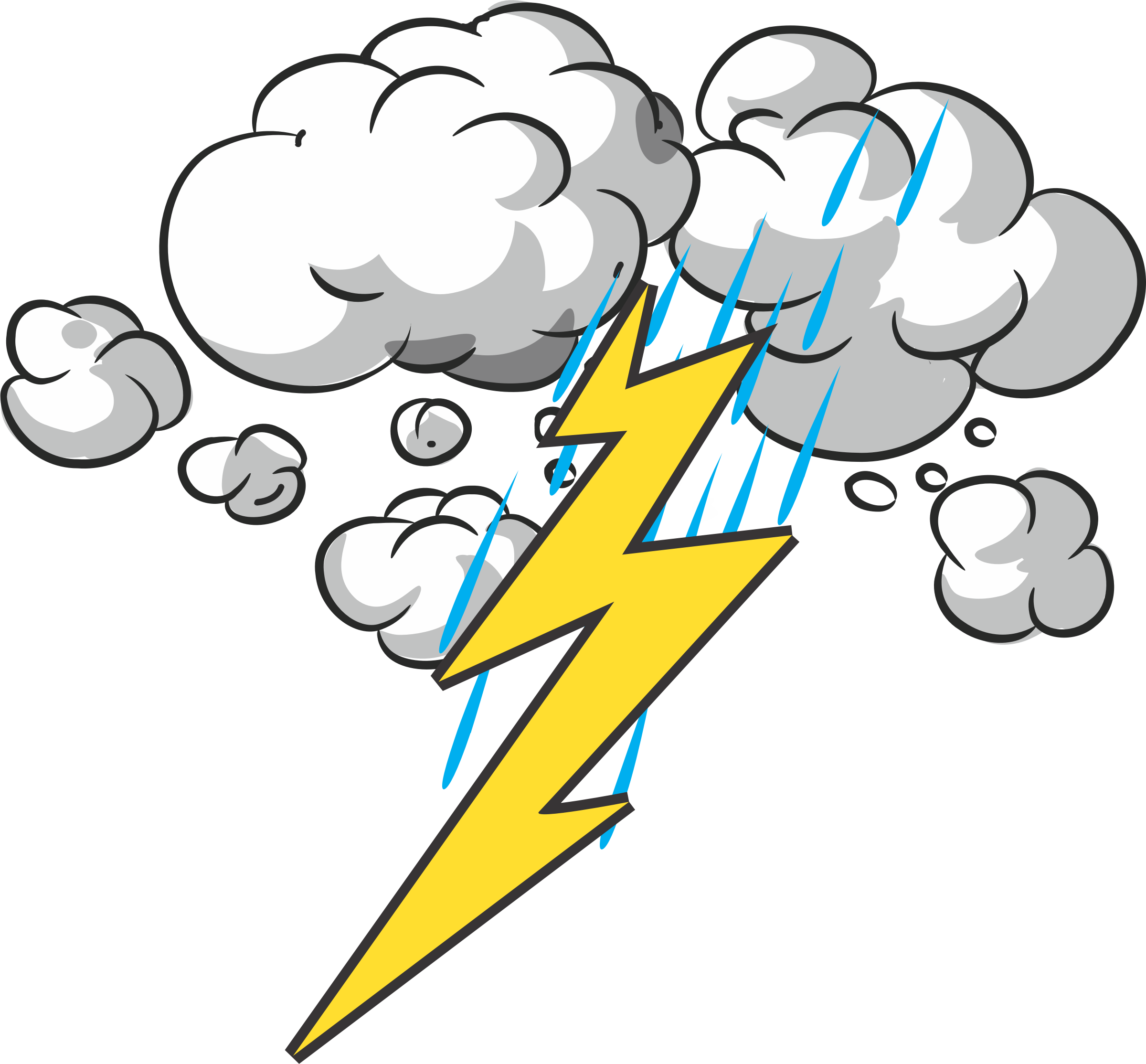 Lighting clipart thunderstorm safety.  collection of lightning