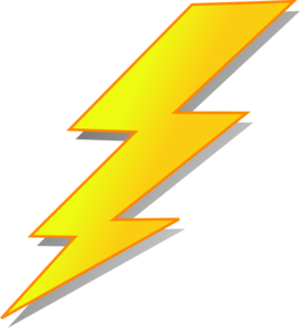 Lightning clipart. Art small interior