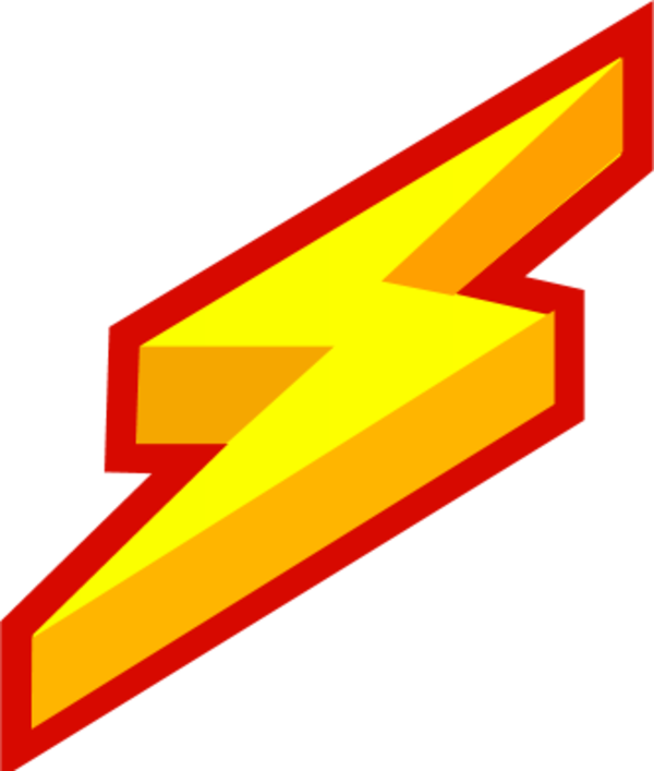 Lightning clipart artistic. Bolt projects design free