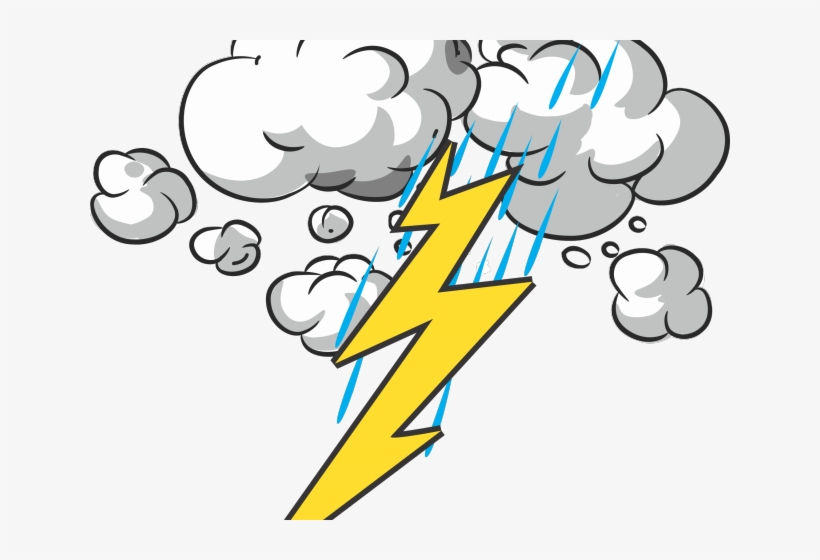Thunder and lightning png. Thunderstorm clipart transparent