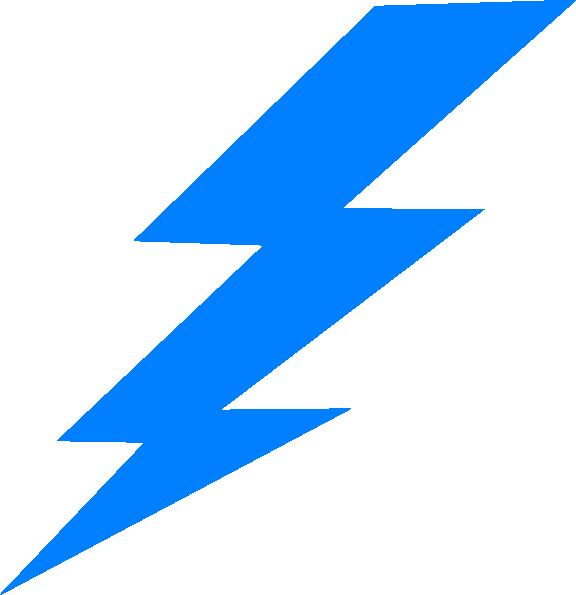 Lightning clipart blue. Lightening bolt clip art