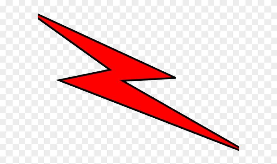 Red png download . Lightning clipart clip art