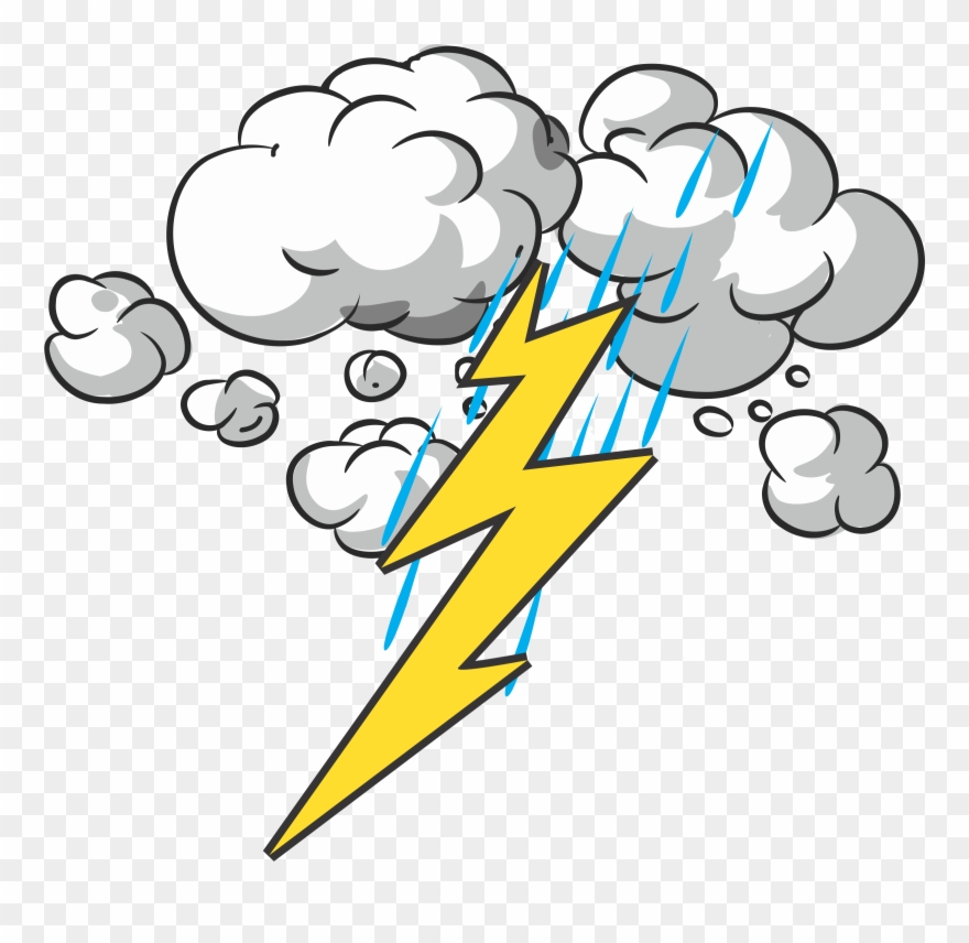 Lightning clipart cute. Collection of and thunder