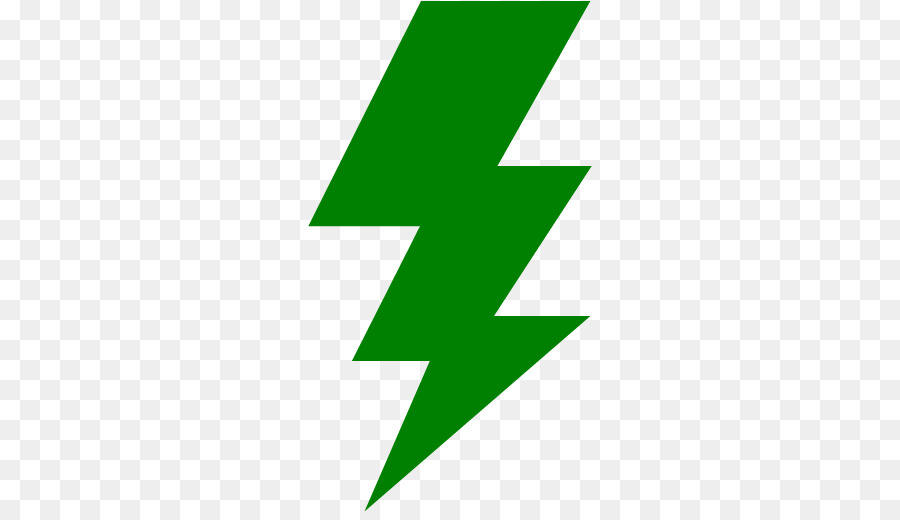 lightning clipart green