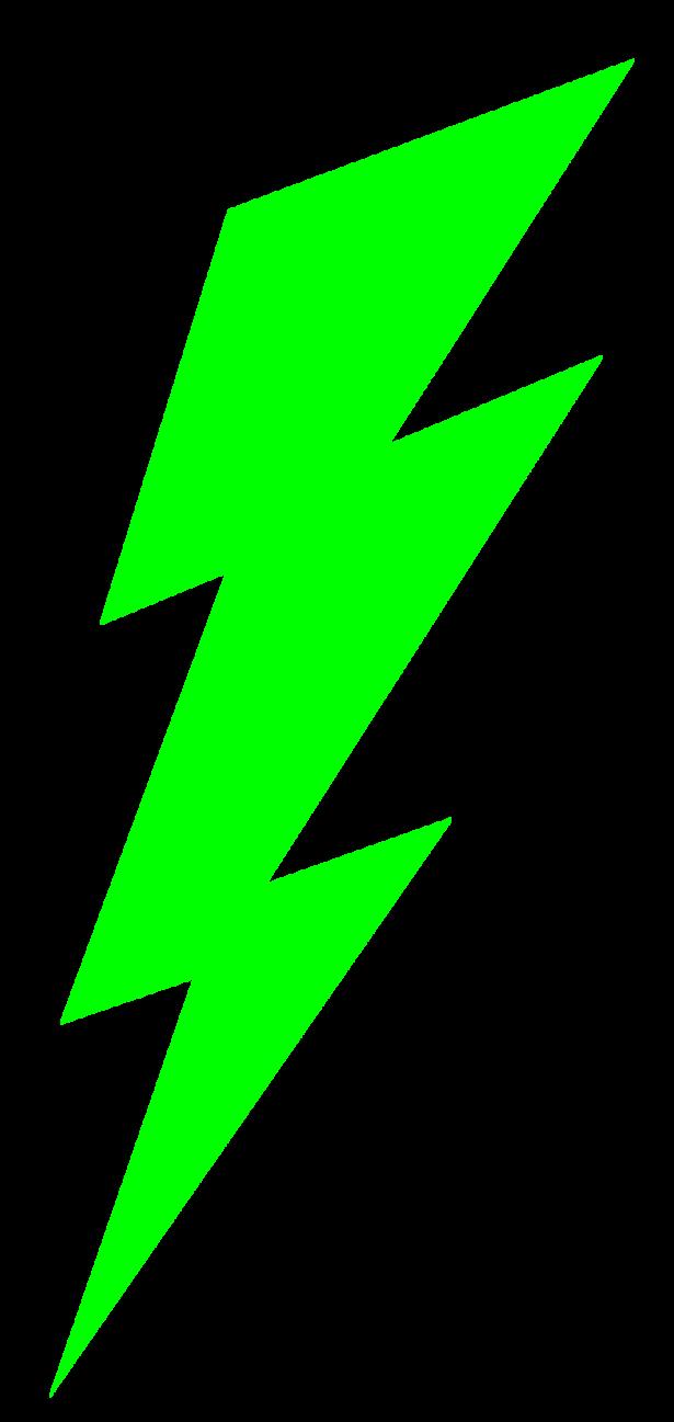 Bolt clip art library. Lightning clipart green