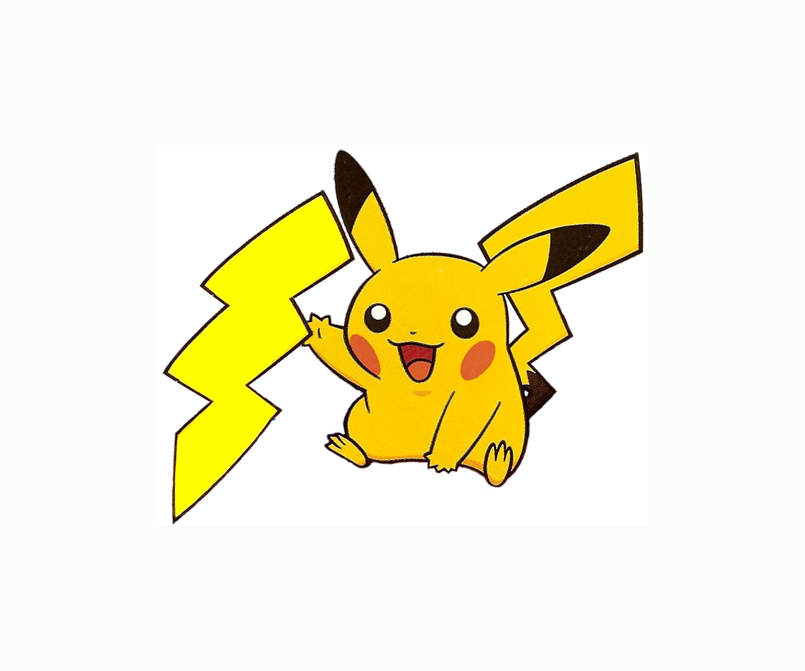 Pikachu clipart lightning. Pokemon bolt wallpaper x