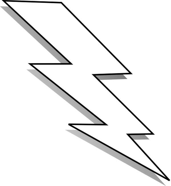 Lightning clipart printable. Free bolt download clip
