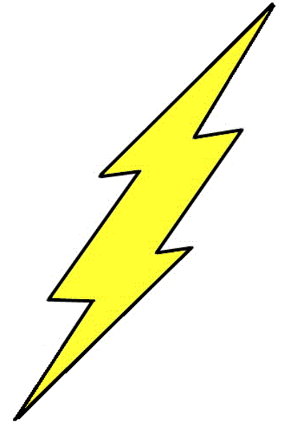 Lightning clipart printable. To transparent png azpng