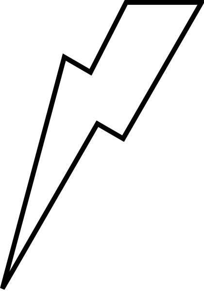 Free bolt download clip. Lightning clipart printable