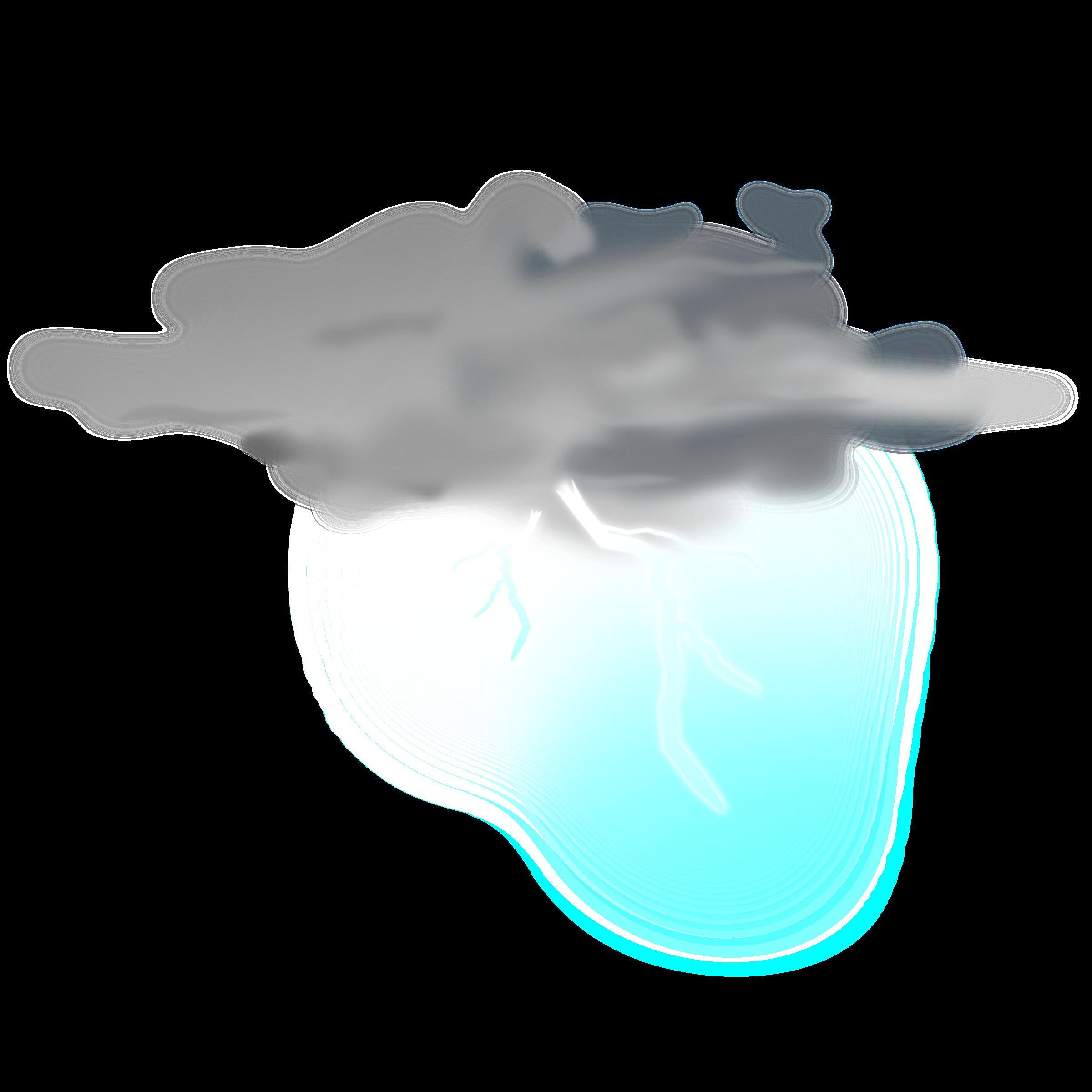 Thunderstorm clipart thunderstorm weather. Icon thunder big image