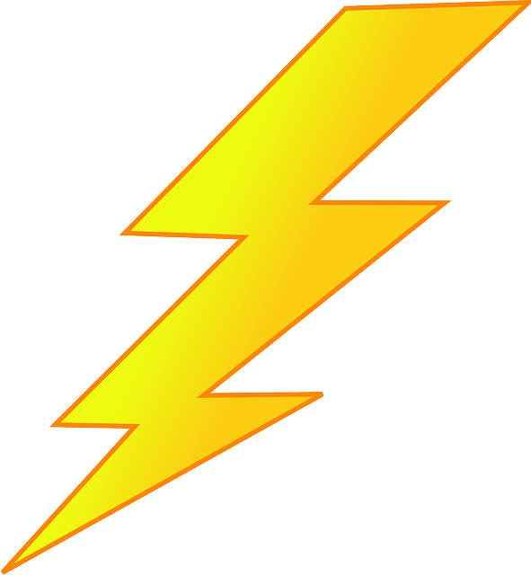 Lightning clipart red yellow. Talks the not very