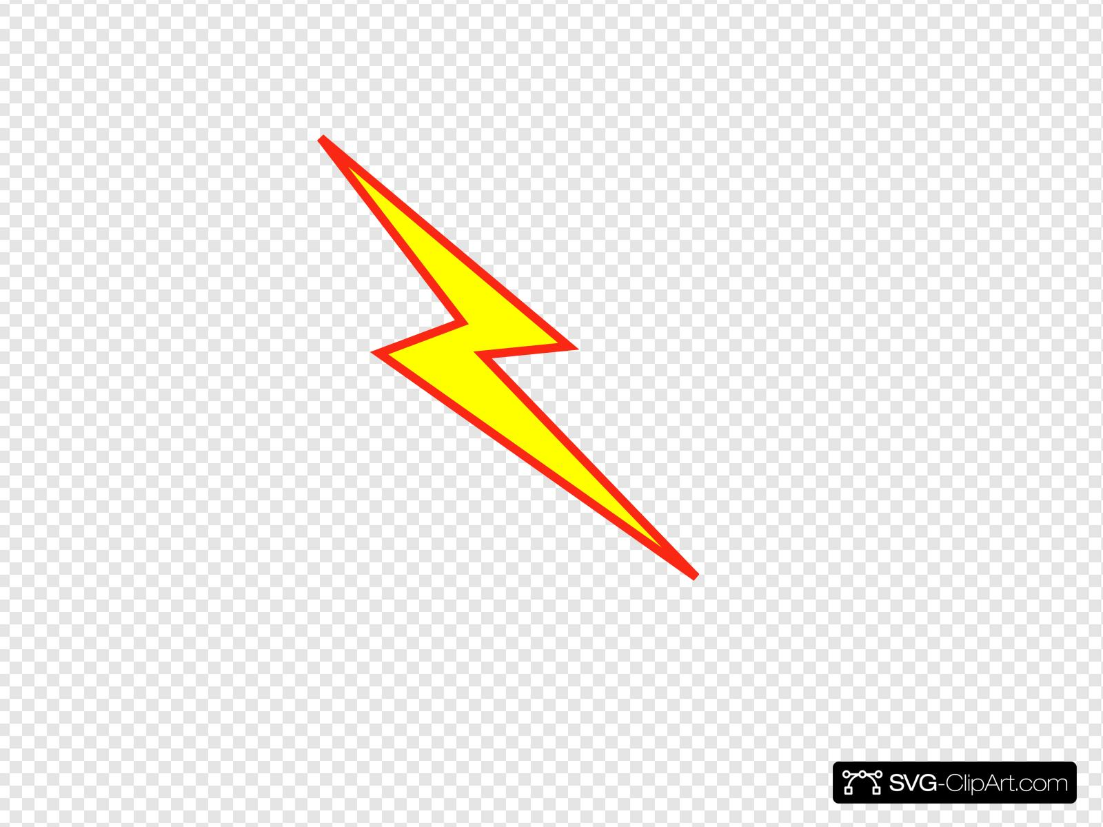 And bolt clip art. Lightning clipart red yellow