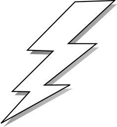 Lightning clipart stencil. Bolt free download clip