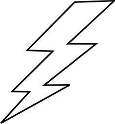 Free bolt lightening clip. Lightning clipart stencil