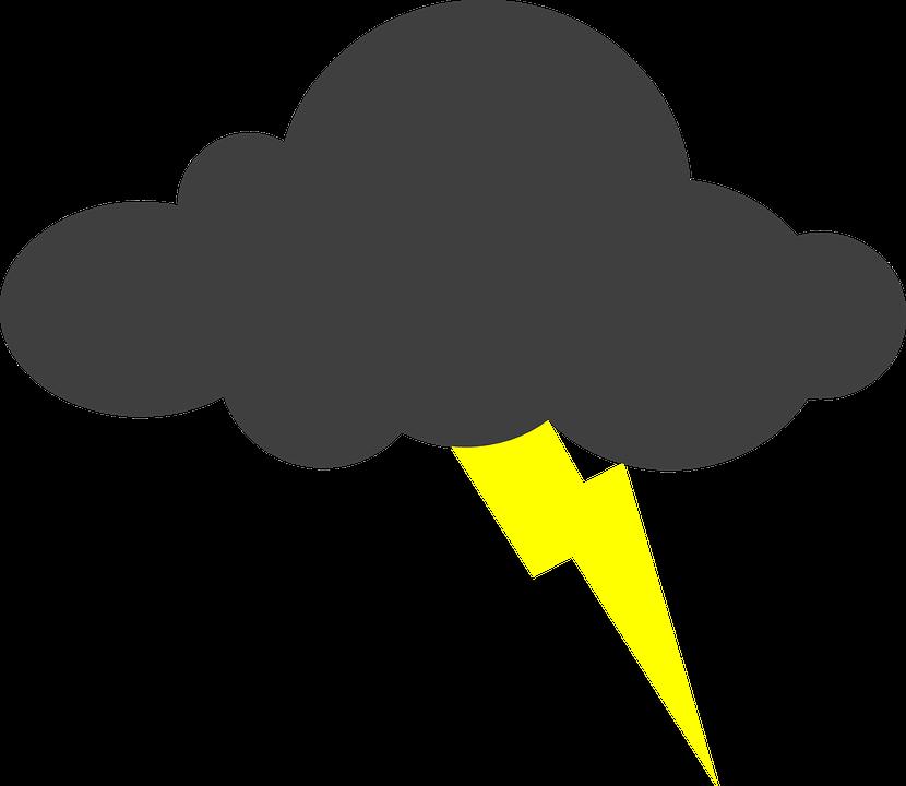 Cartoon storm cloud shop. Thunderstorm clipart tag ulan