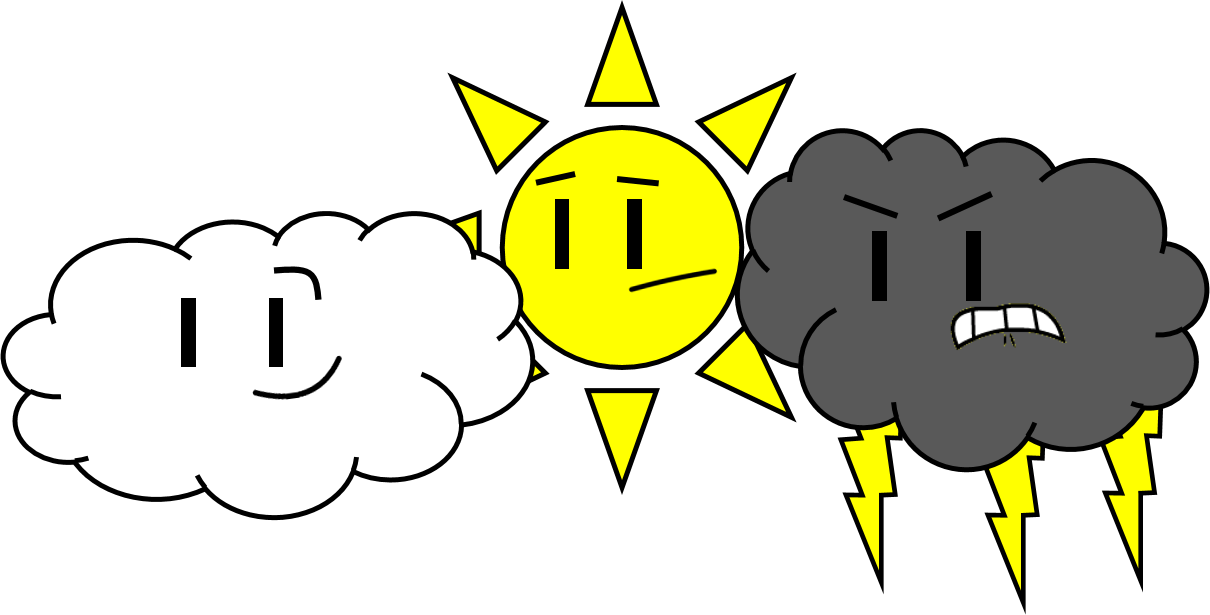 Lightning clipart stormy. Weather non entity wikia