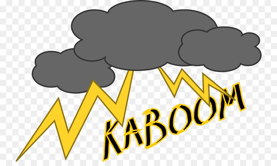 Cloud logo lightning . Thunderstorm clipart thunder sound