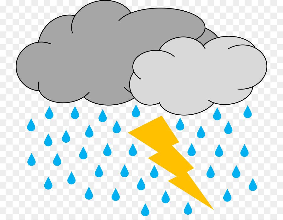 Rain cloud png download. Lightning clipart thunderstorm