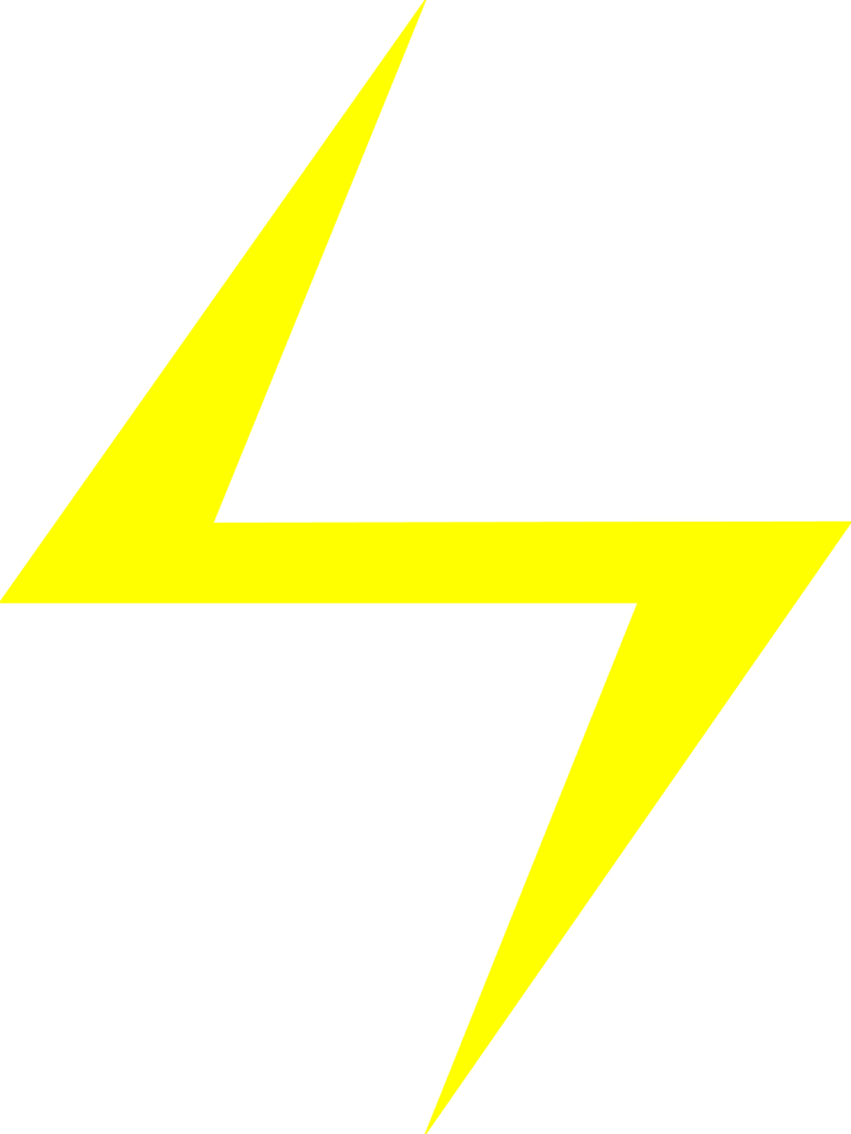 Lightning clipart transparent background. Yellow png images free