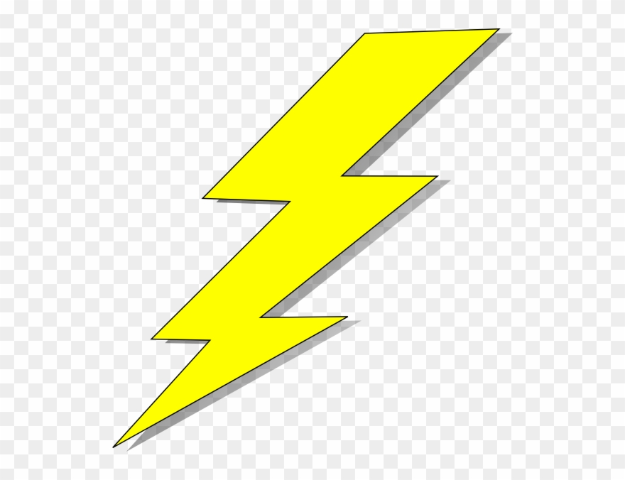 Lightning clipart transparent background. Yellow pinterest and clip