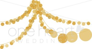 Lights clipart. Party wedding ceremony