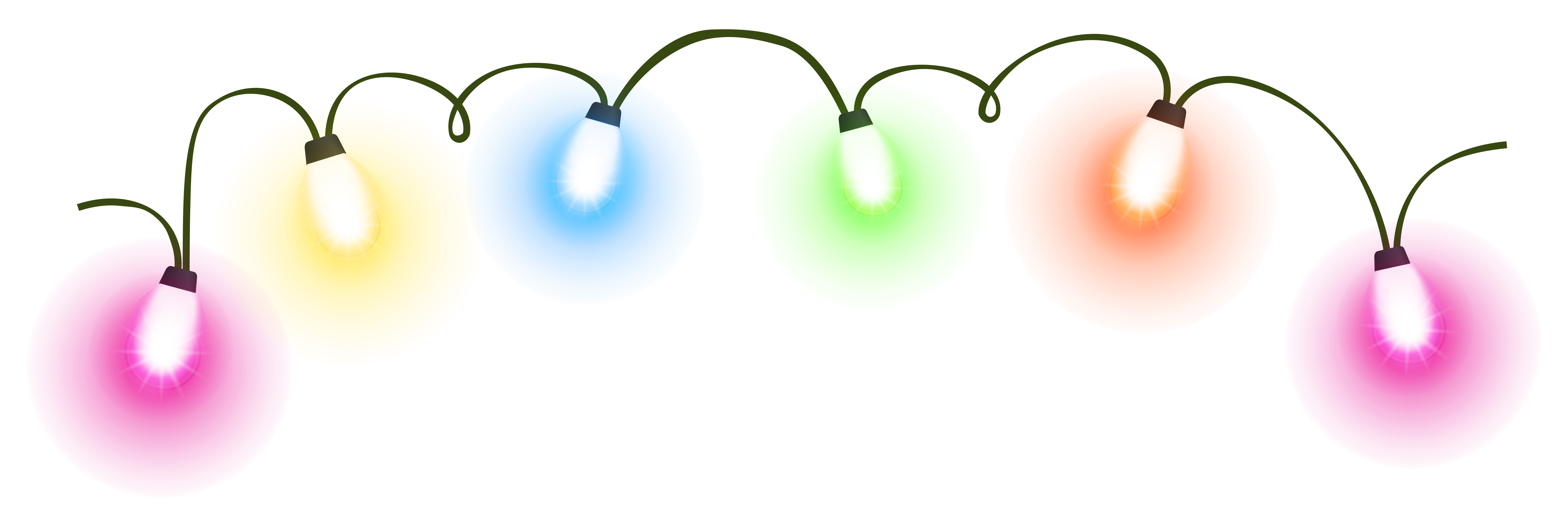 Transparent christmas png gallery. Lights clipart