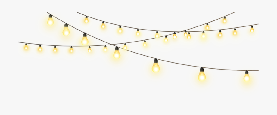 Lights clipart. Pull star string creative