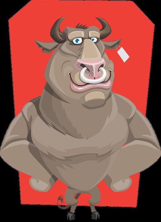 Cartoon bison cliparts shop. Lights clipart barber
