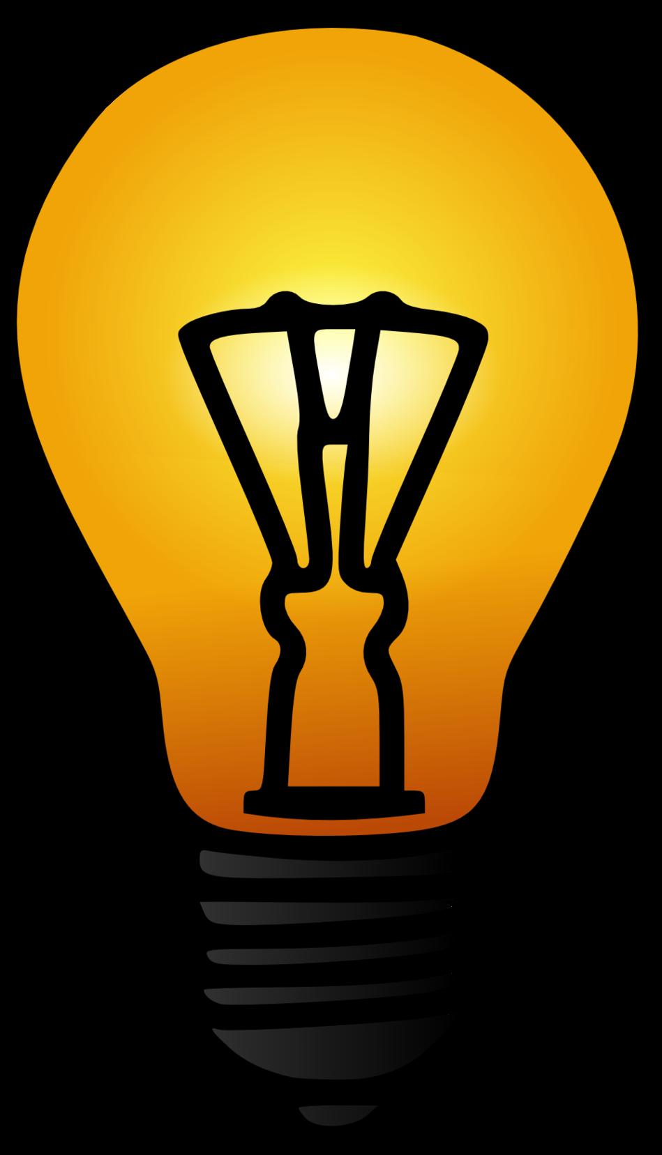 Electric bulbs clipground light. Lamp clipart radiant energy