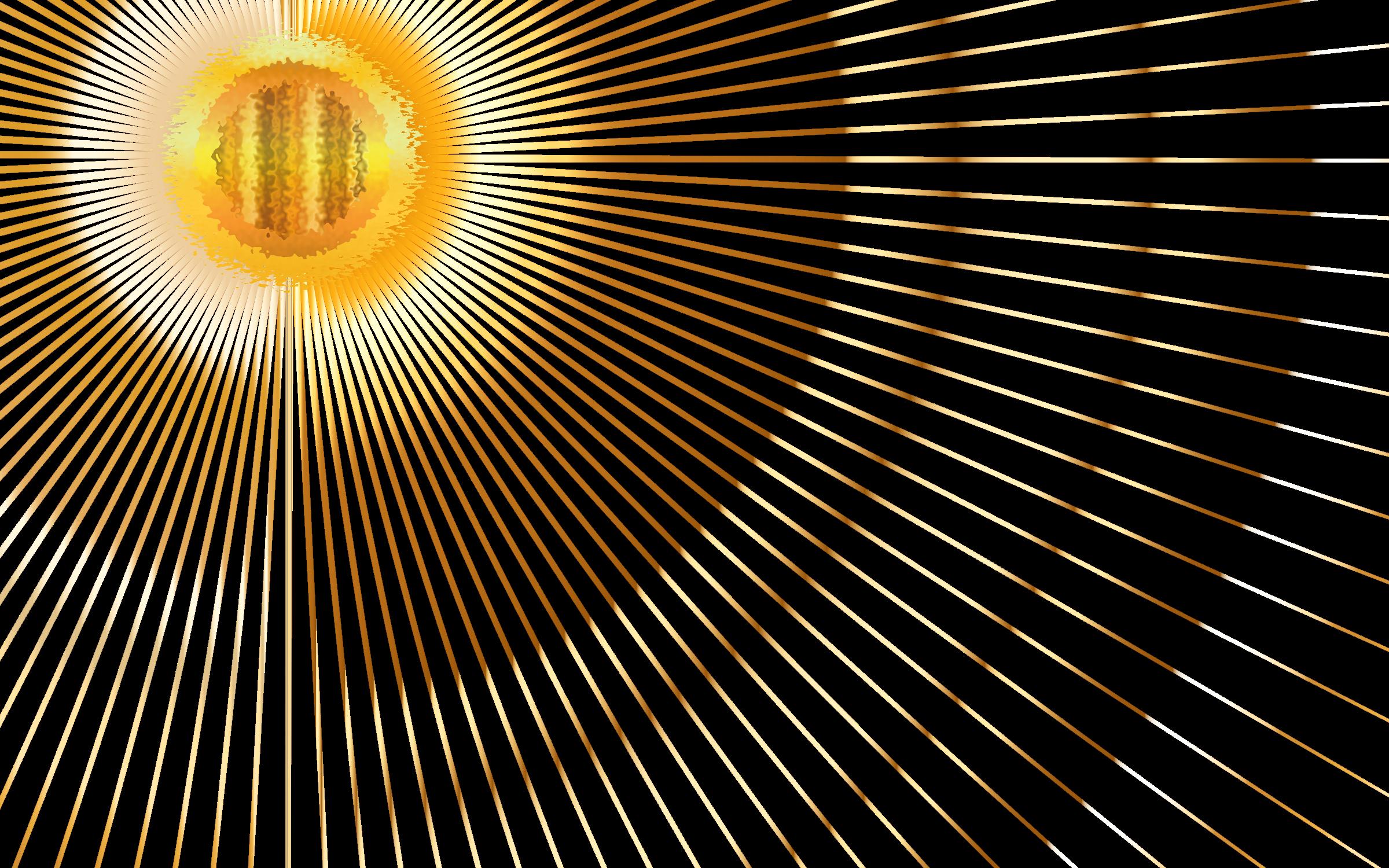 Beams no background big. Lights clipart sun rays