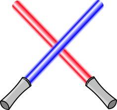 Lightsaber clipart. Star wars clip art