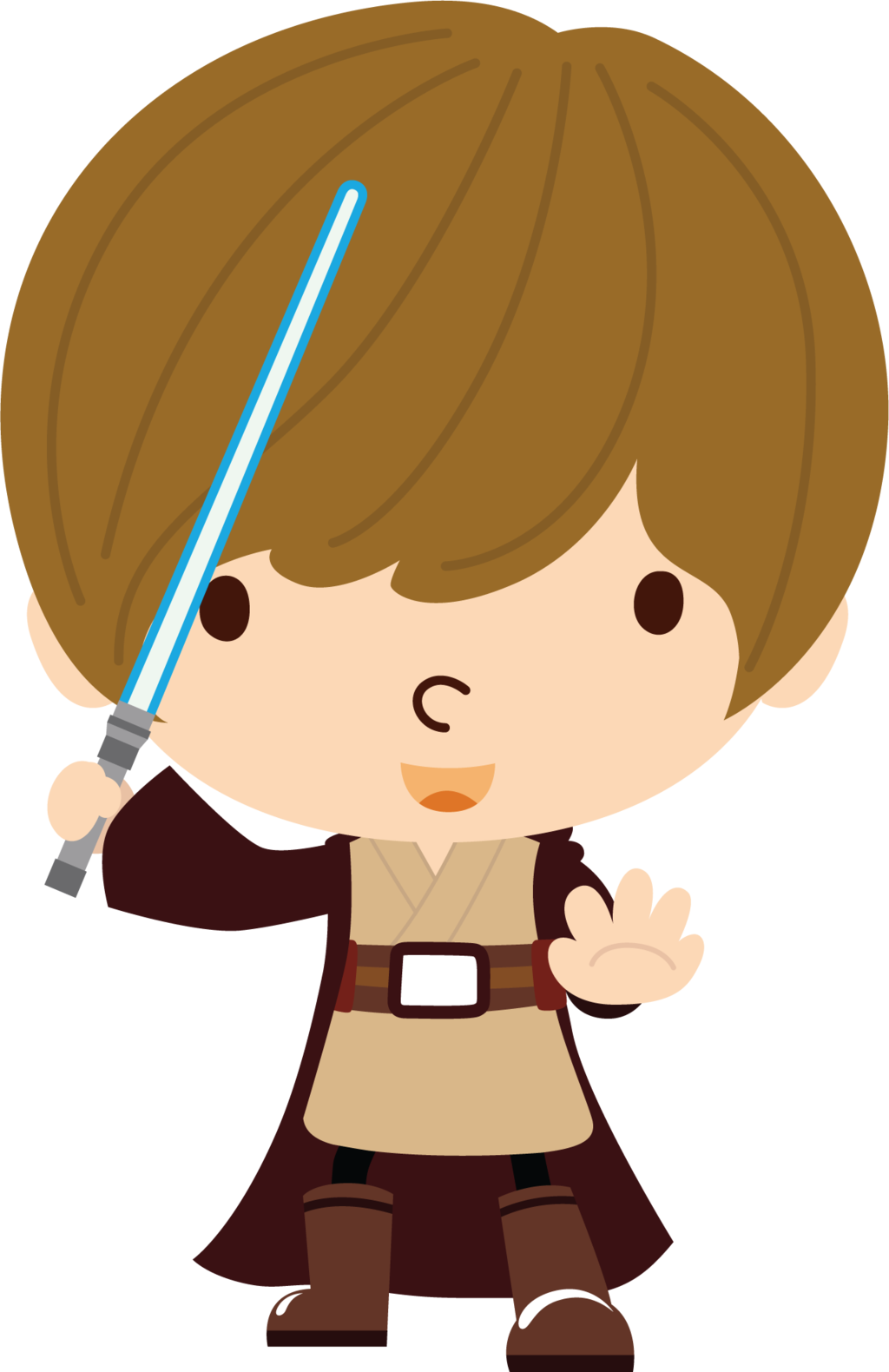 Starwars clipart transparent background. Star wars obi wan